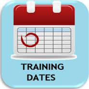 training dates button