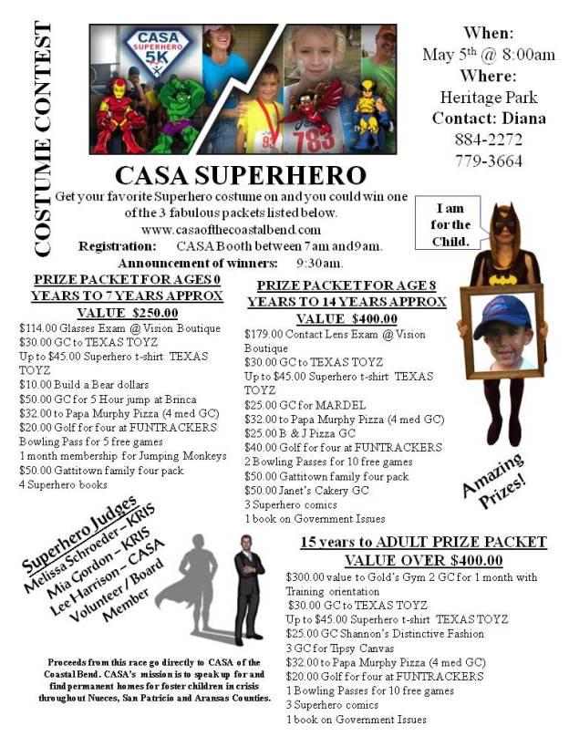 5 K Costume Contest
